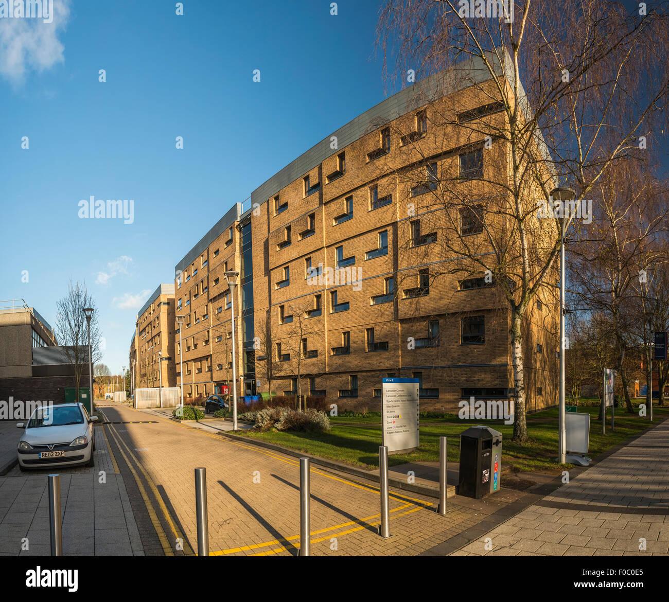 Brunel University campus building in Uxbridge, London, UK - Stock Image