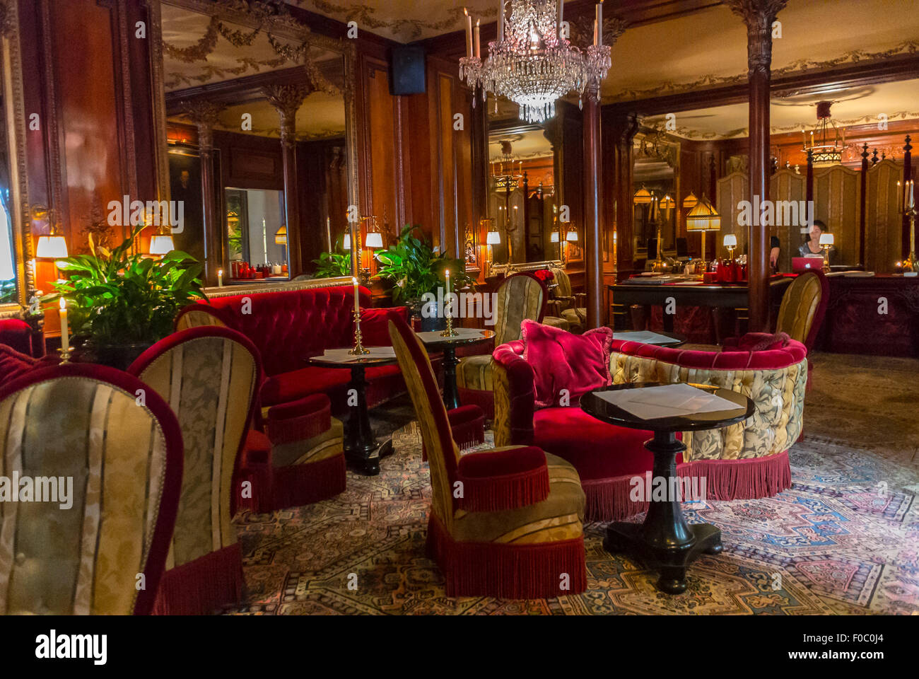 Paris France Inside Luxury Quot Hotel Costes Quot French Bar
