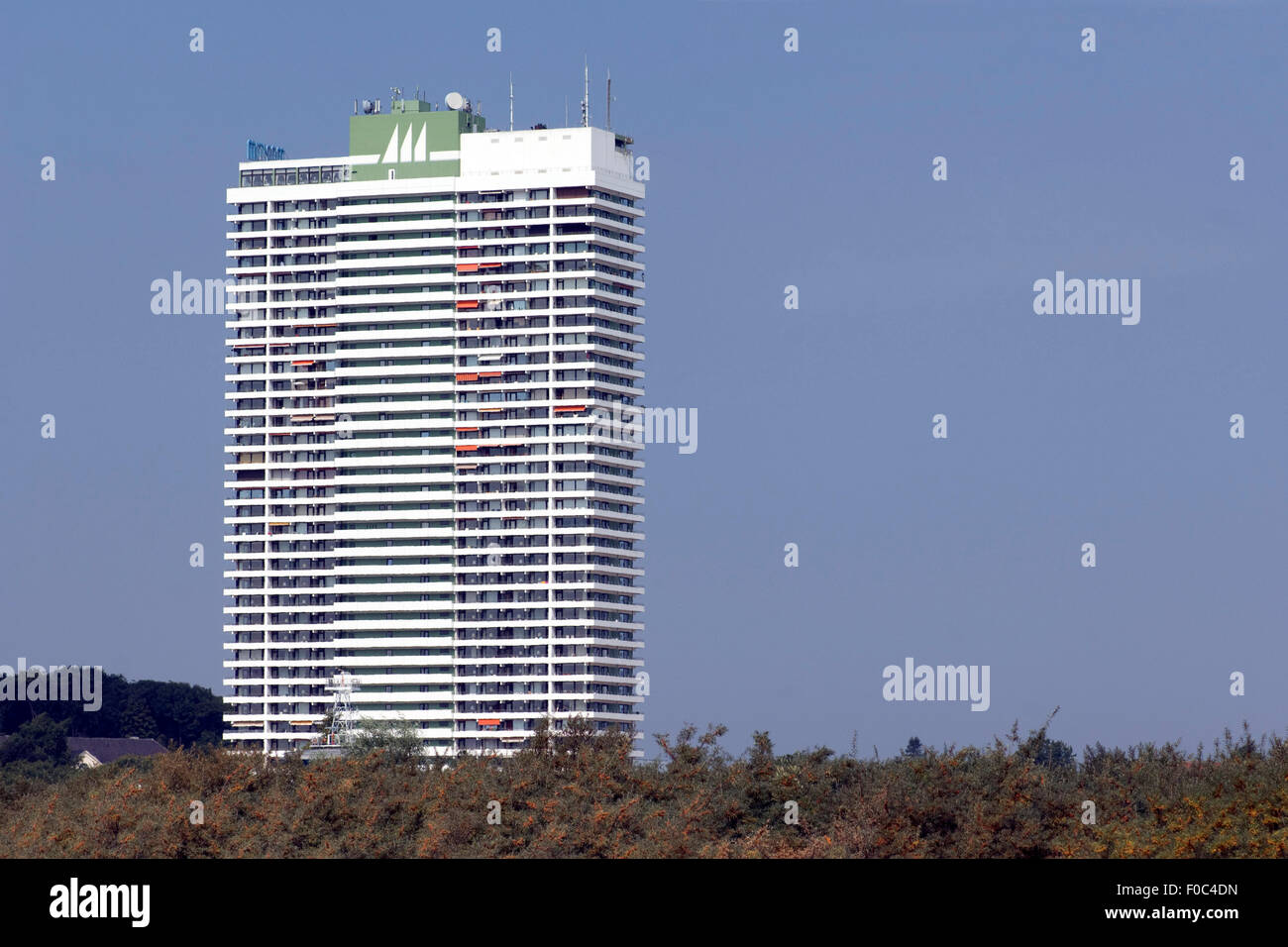 Strandhotel, Maritim, Travemuende, - Stock Image