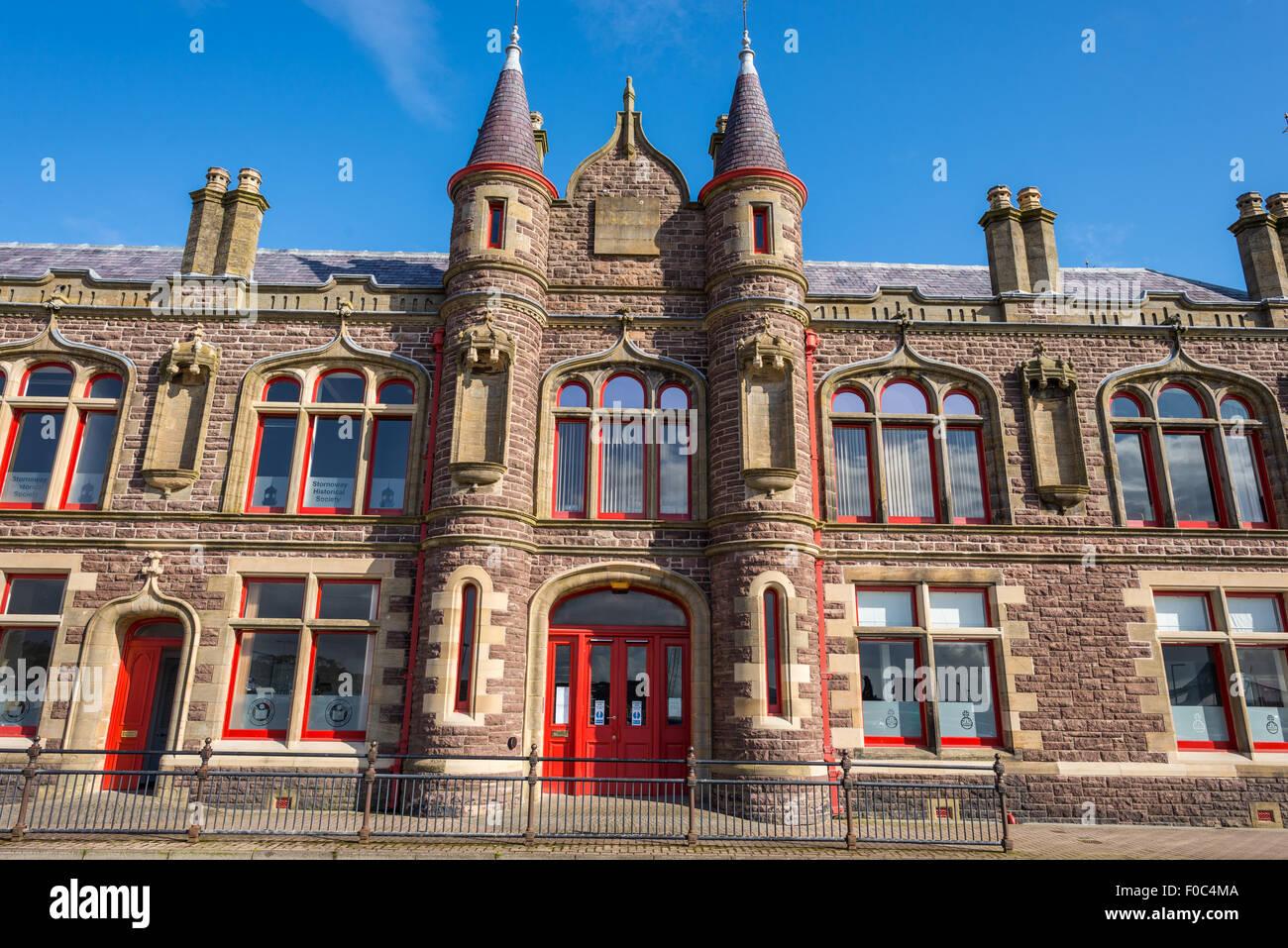 Stornoway Town Hall. - Stock Image