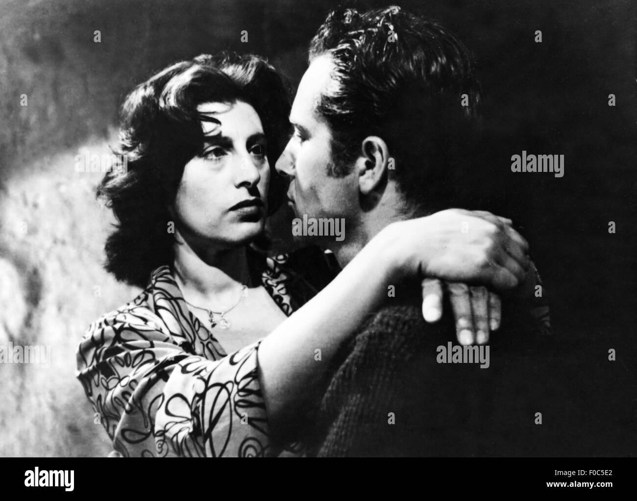 "movie, ""Volcano"" (Vulcano), ITA 1950, director: William Dieterle, scene with: Anna Magnani, Rossano Brazzi, Third Stock Photo"