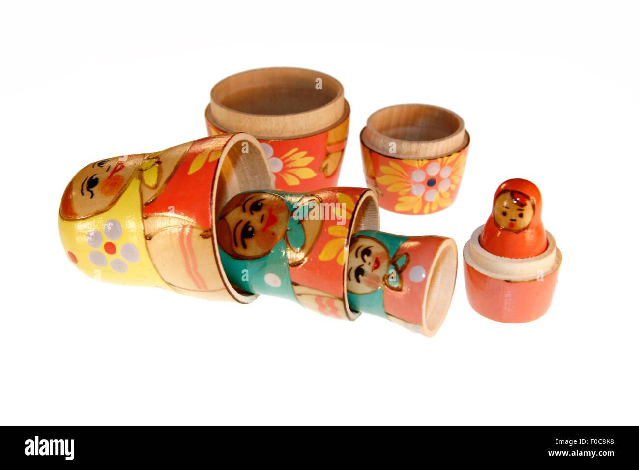 Symbolbild: Matrjoschka/ Matroschka. Stock Photo