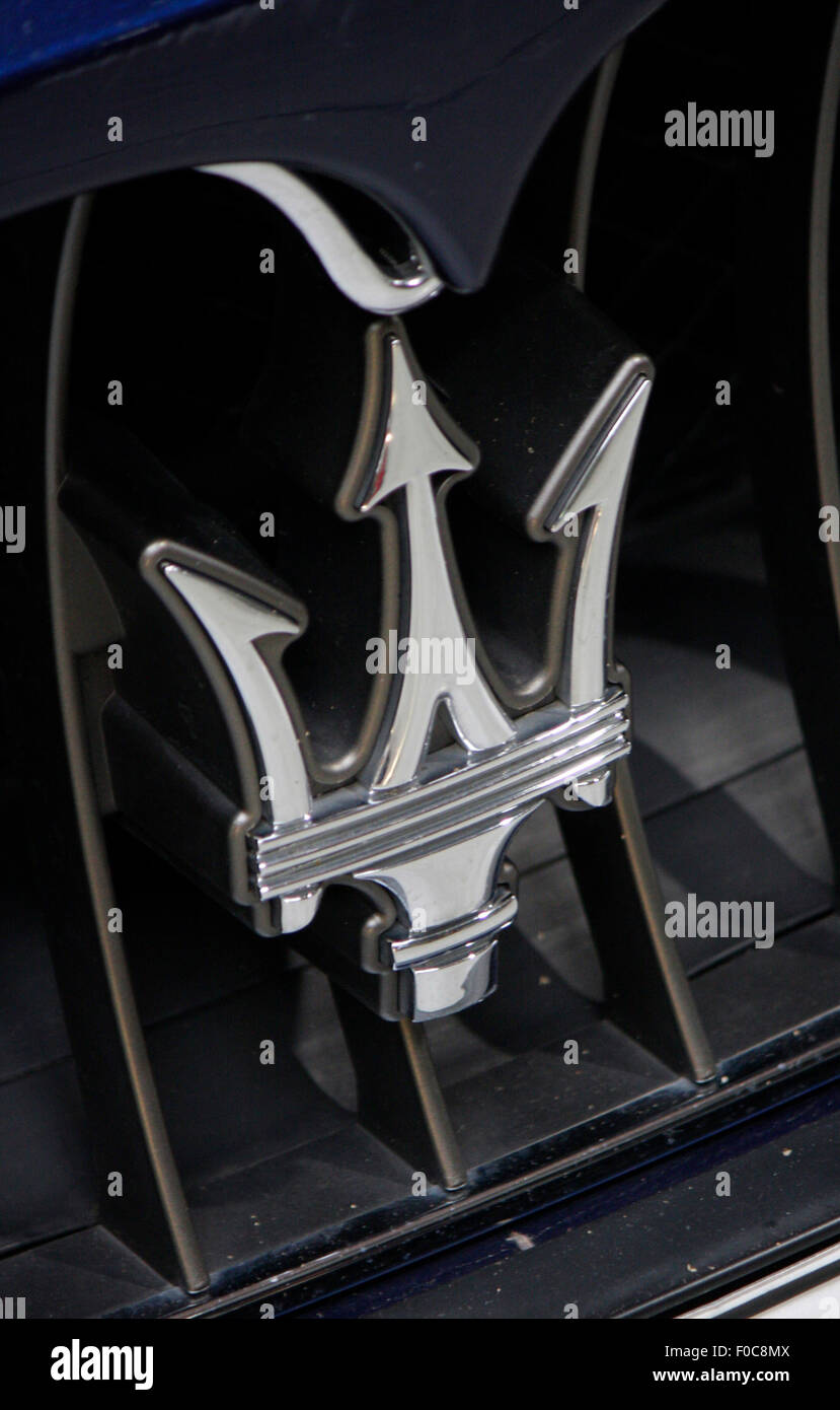 Markenname: 'Maserati', Dezember 2013, Berlin. - Stock Image