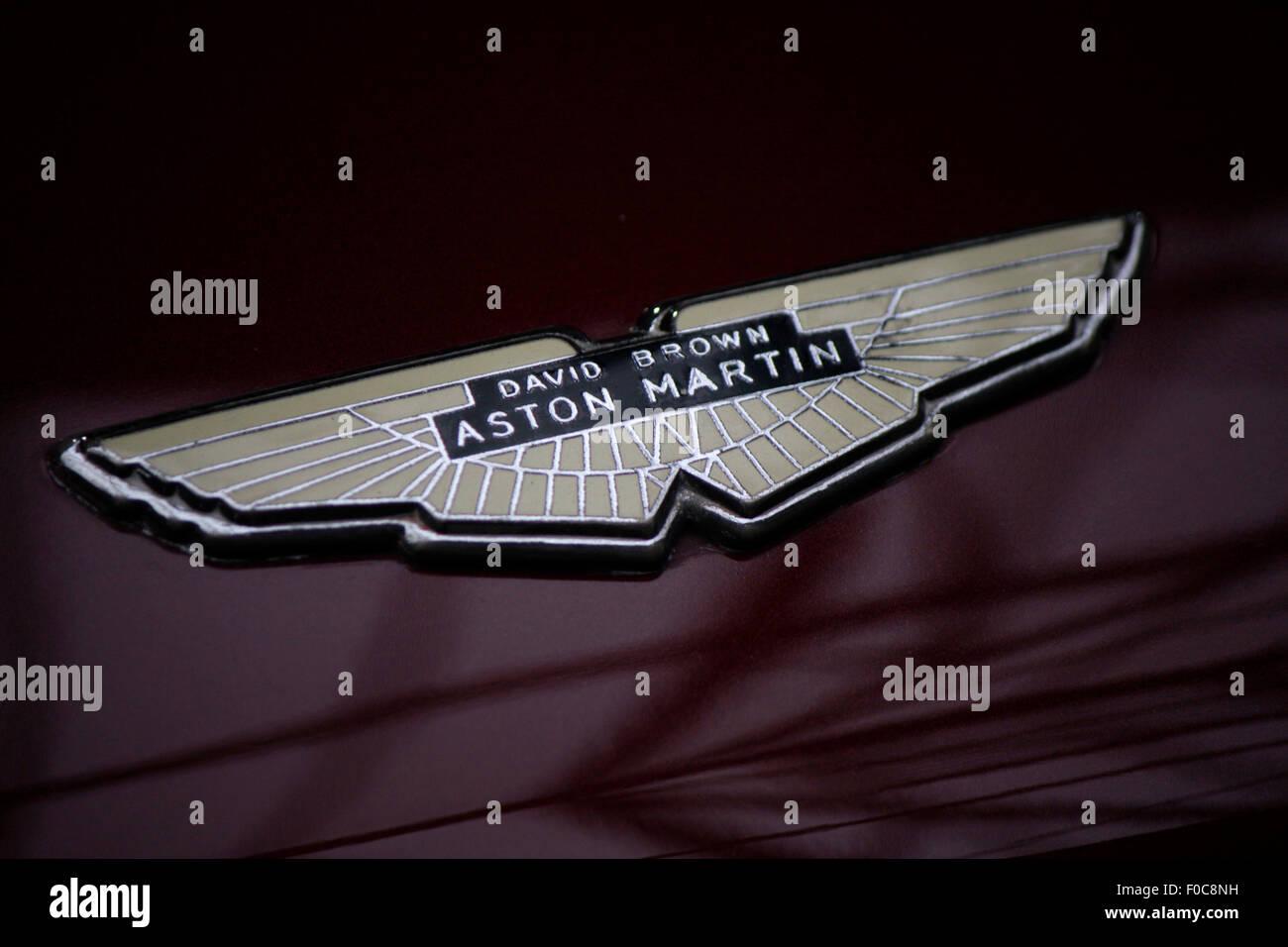 Markenname: 'Aston Martin', Dezember 2013, Berlin. - Stock Image
