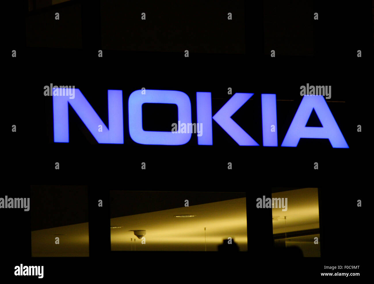 Markenname: 'Nokia', Dezember 2013, Berlin. - Stock Image