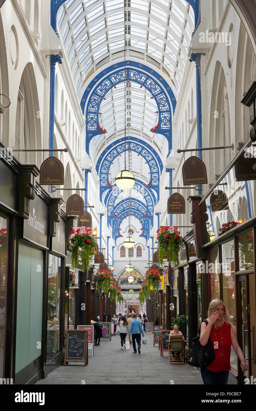 Thornton's Arcade, Leeds City Centre, Northern England - Stock Image