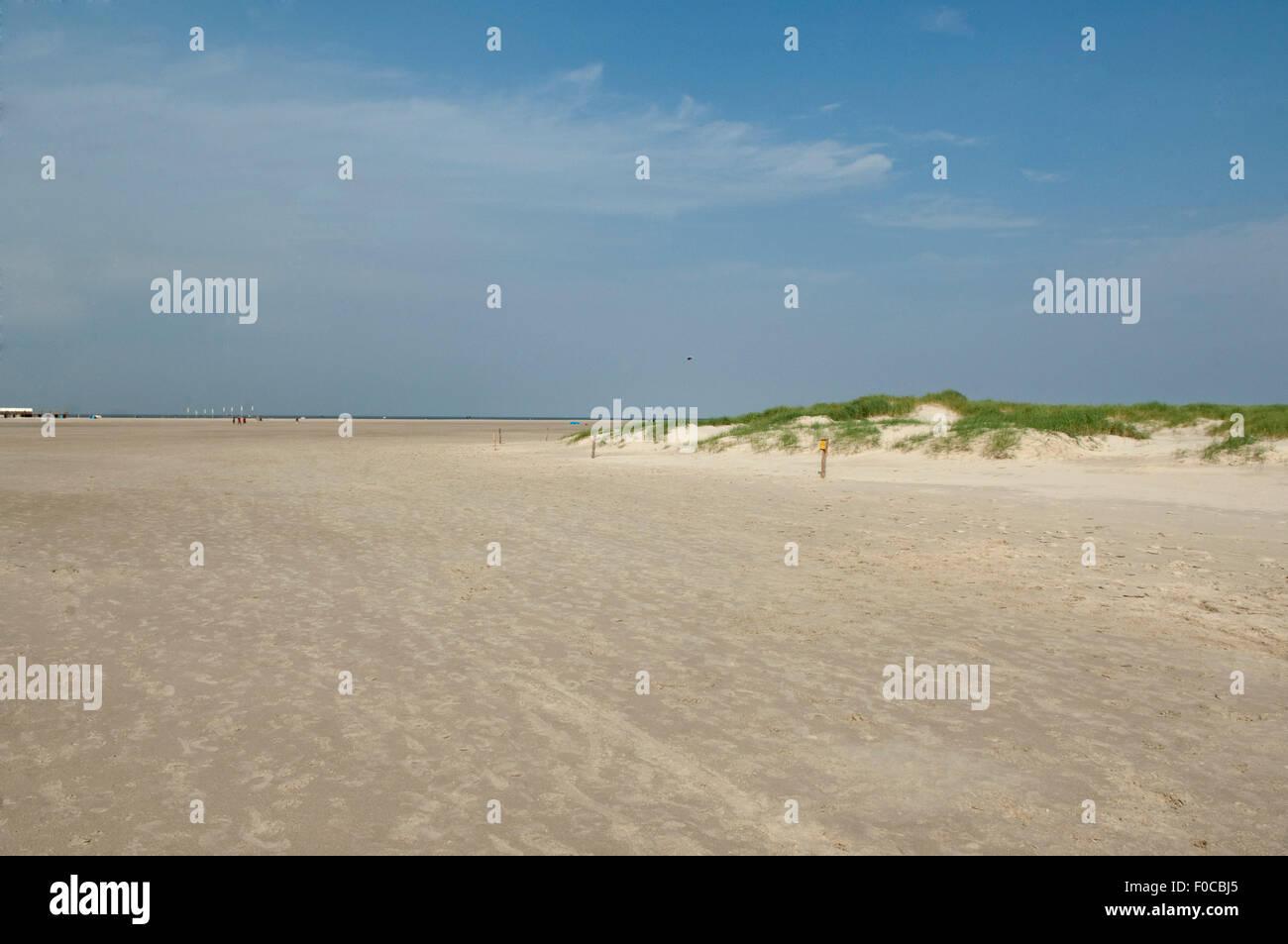 Strand, Sankt Peter-Ording - Stock Image