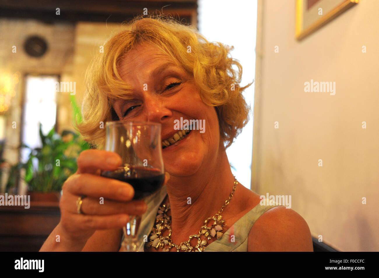 Drunk mature women party