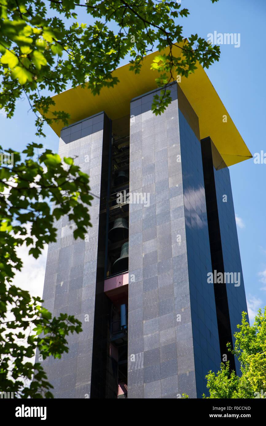 The Carillon Tower in Tiergarten, Berlin - Stock Image