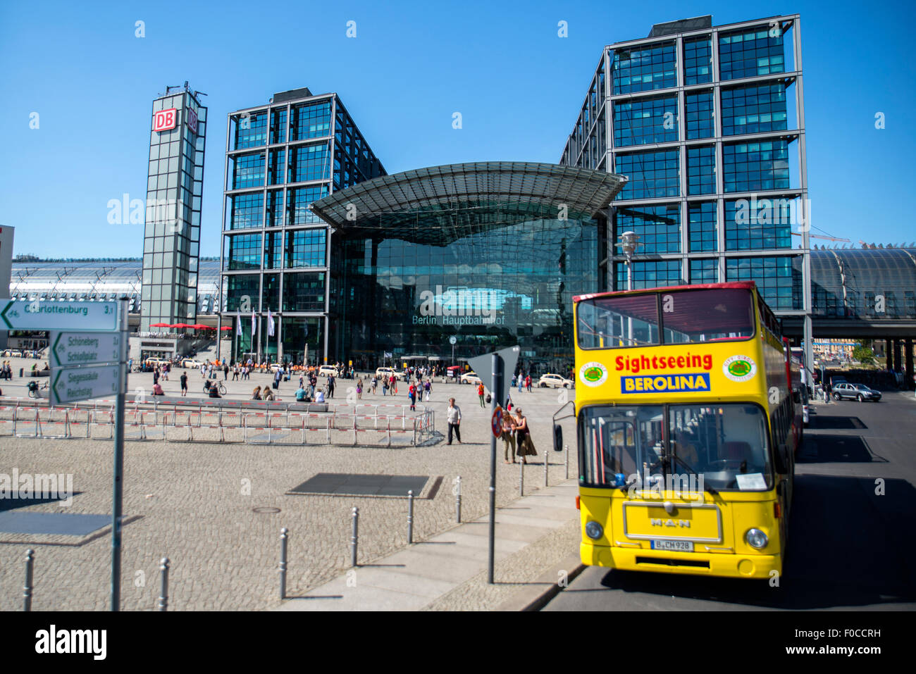 Berlin central coach station