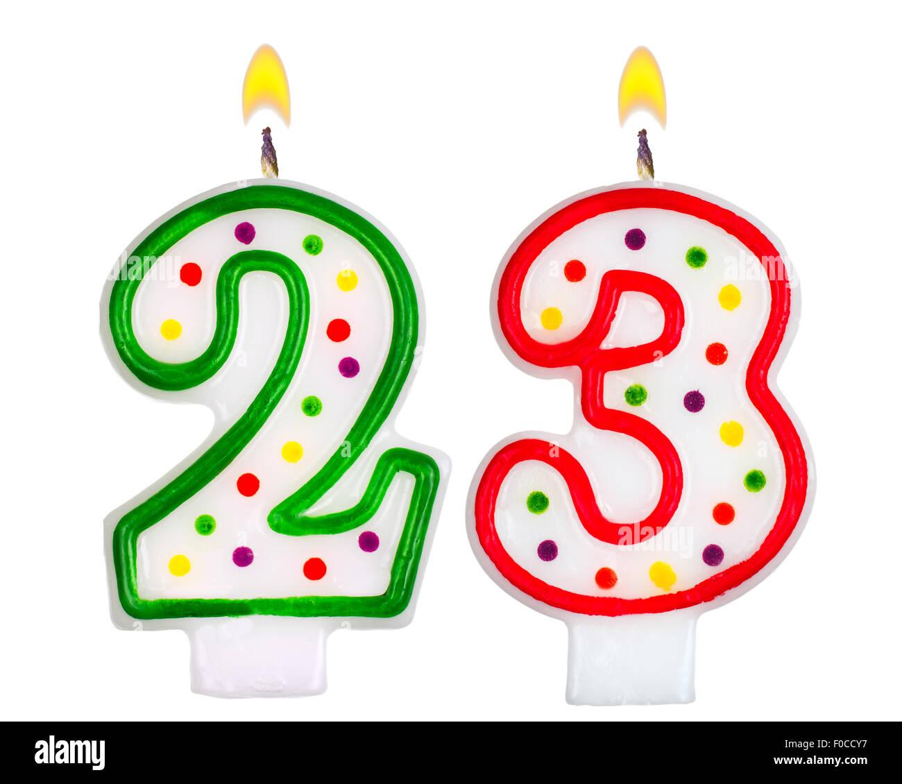 Birthday Number 23