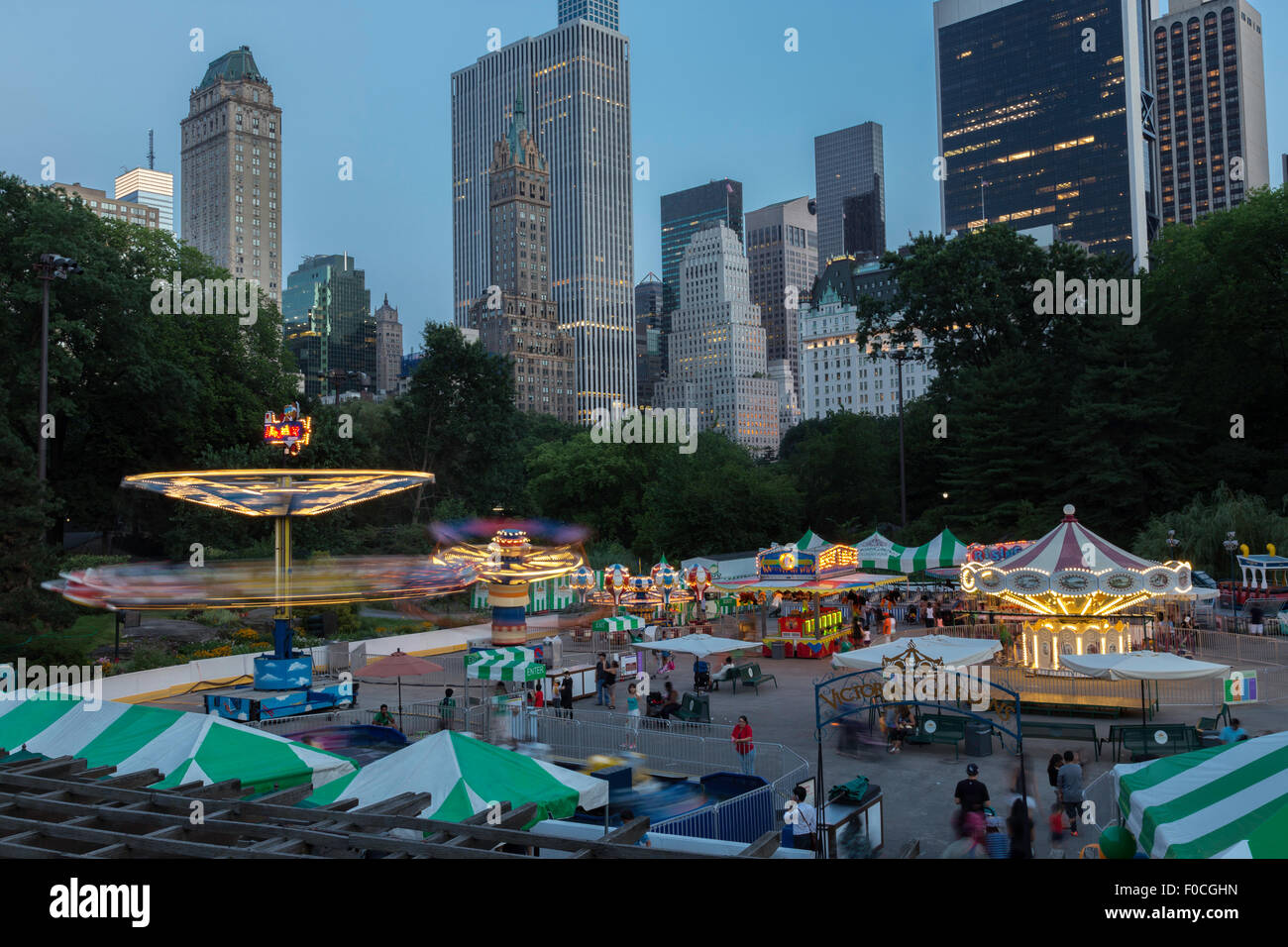 Carnival Rides Night Time On Stock Photos Amp Carnival Rides Night Time On Stock Images Alamy