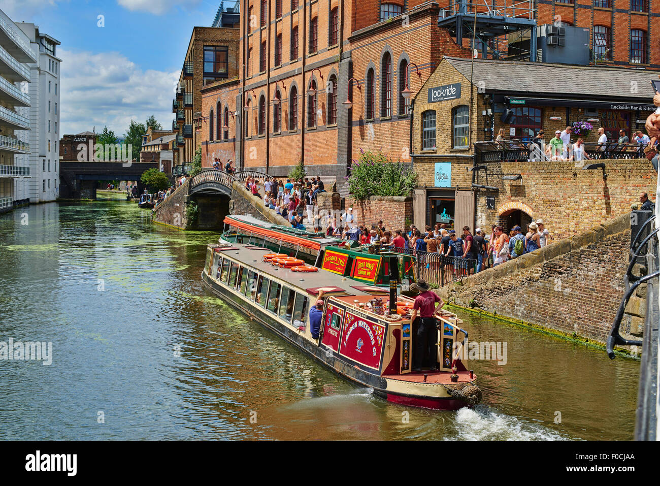 Camden Market, London, Ingland, United Kingdom, Europe - Stock Image