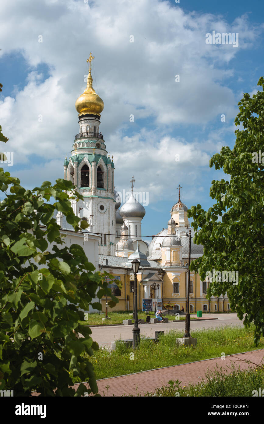 City Vologda - Stock Image