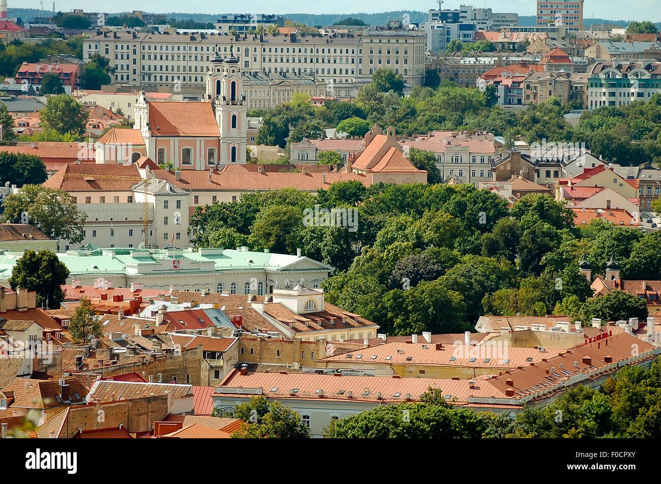 Vilnius - Lithuania - Stock Image