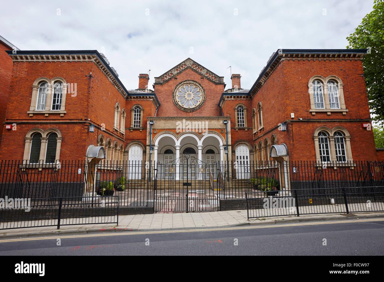 Birmingham hebrew congregation singers hill synagogue UK - Stock Image