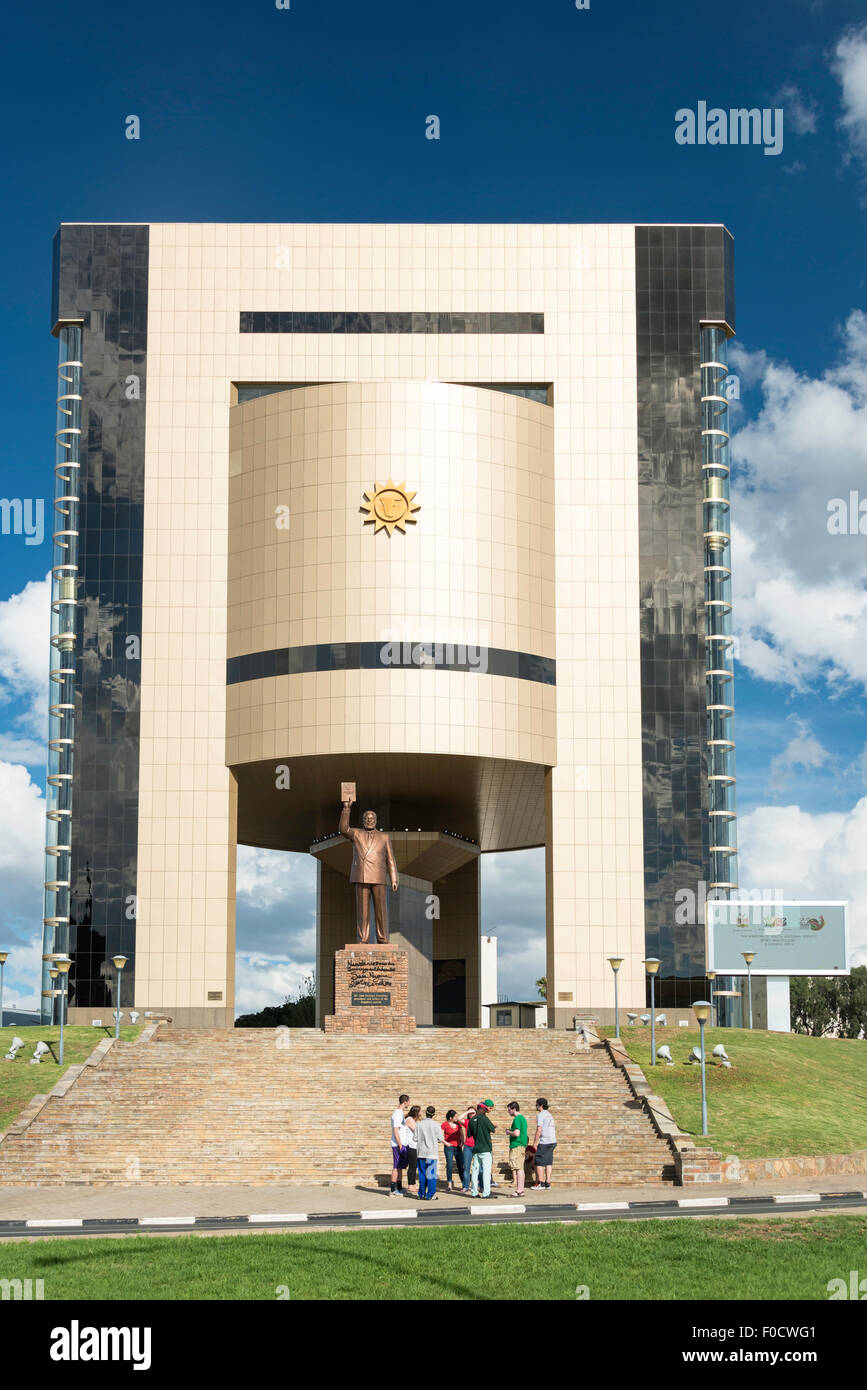 National Museum of Namibia, Robert Mugabe Avenue, Windhoek (Windhuk), Khomas Region, Republic of Namibia - Stock Image