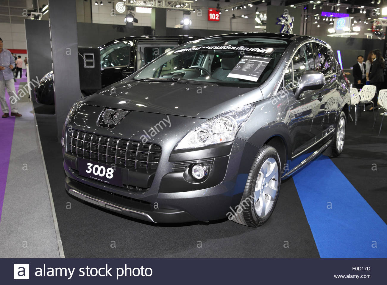 3008 stock photos 3008 stock images alamy for Garage peugeot paris 17