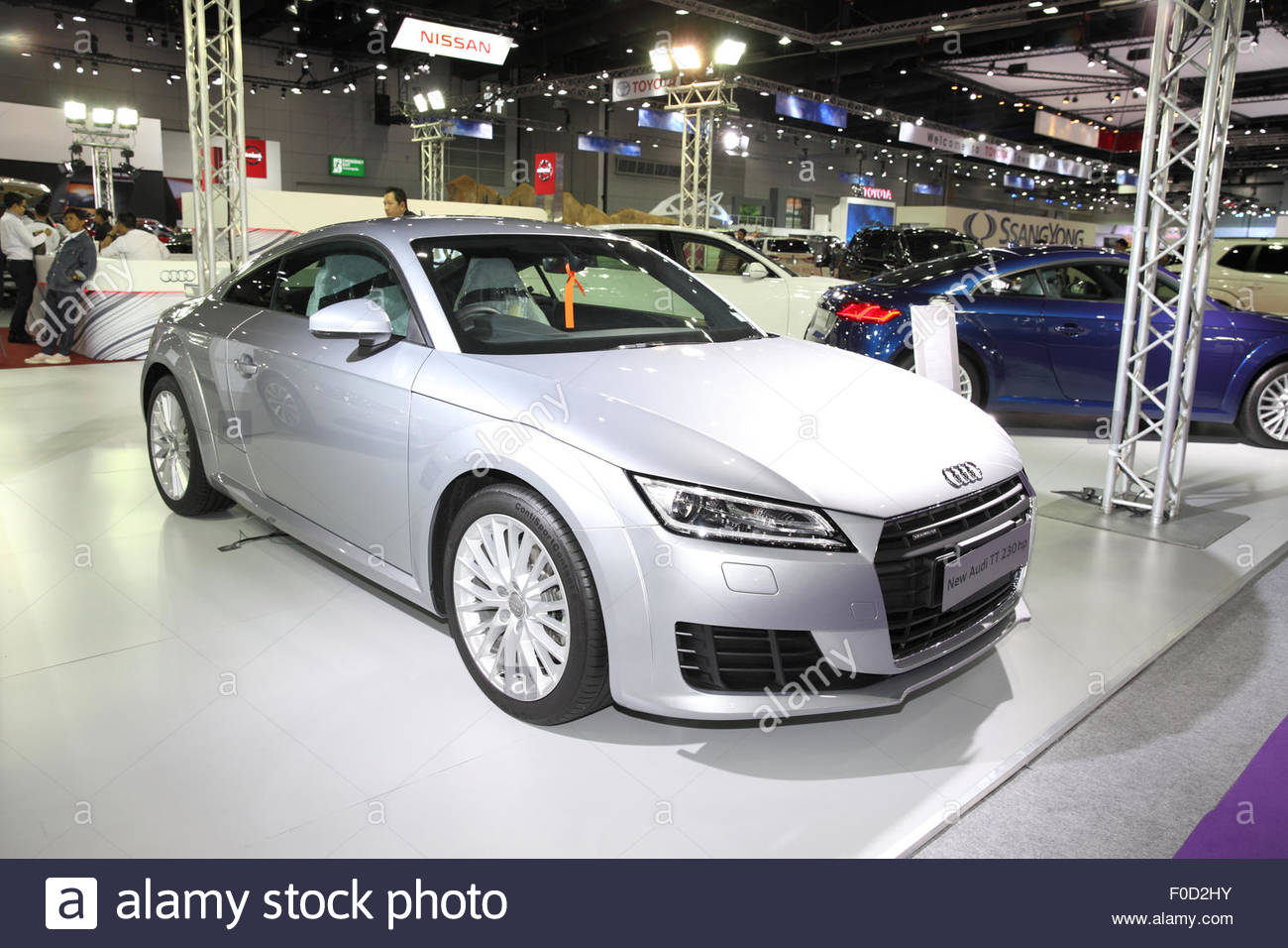 bangkok august 4 new audi tt 230 hp car on display at big motor stock photo 86339287 alamy. Black Bedroom Furniture Sets. Home Design Ideas