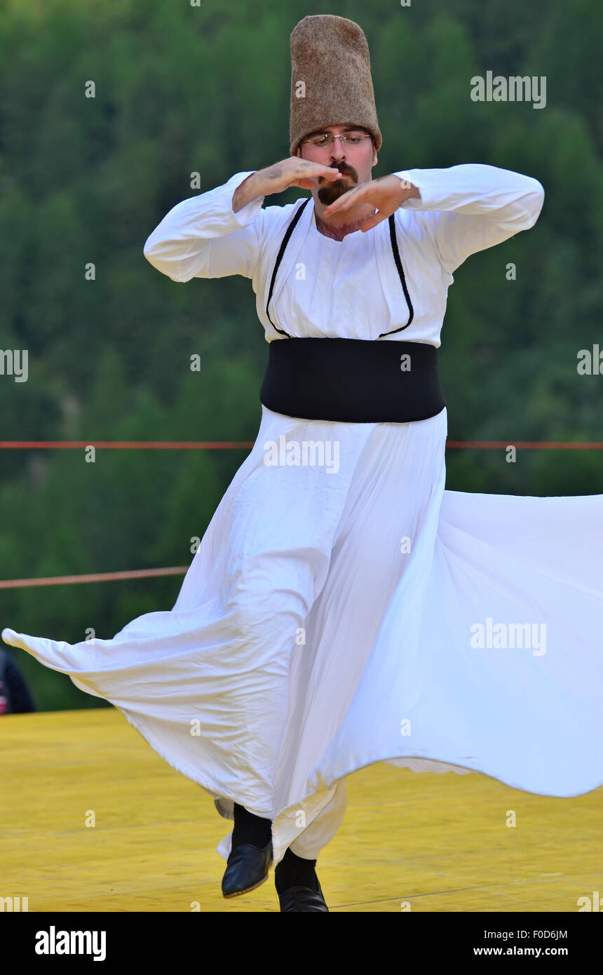 Whirling Dervish - Stock Image