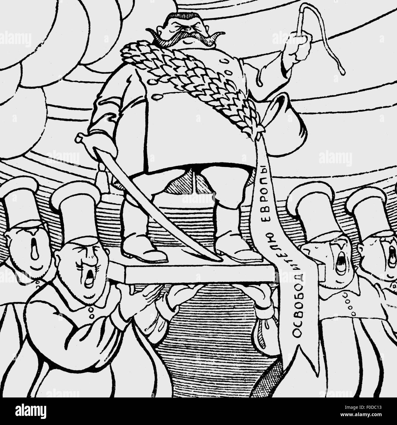 "geography / travel, Germany, politics, caricature, ""German Social Democrats: Long live our Hindenburg! - Hindenburg: Stock Photo"