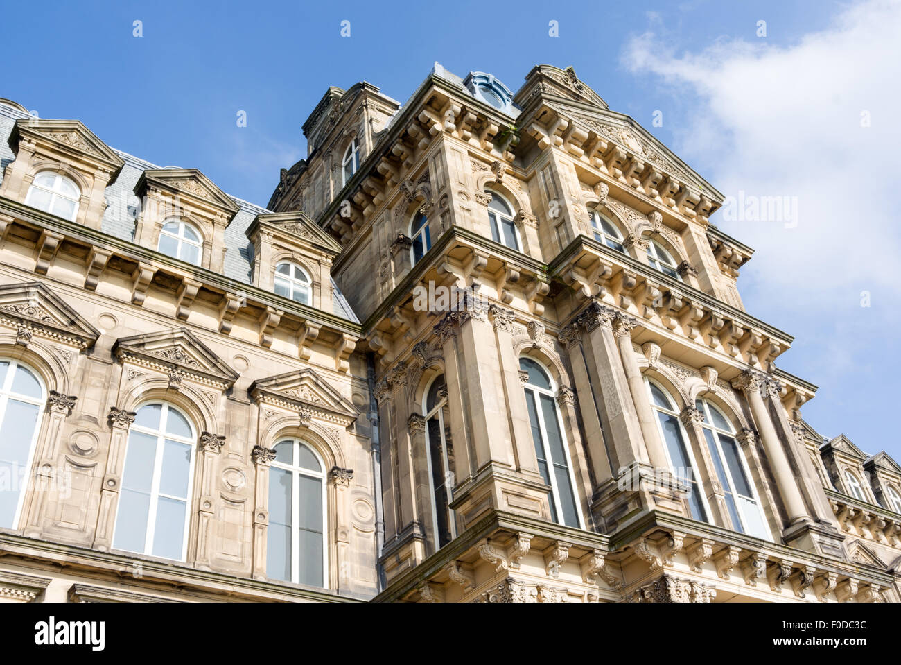 Bowes Museum near Barnard Castle County Durham England - Stock Image