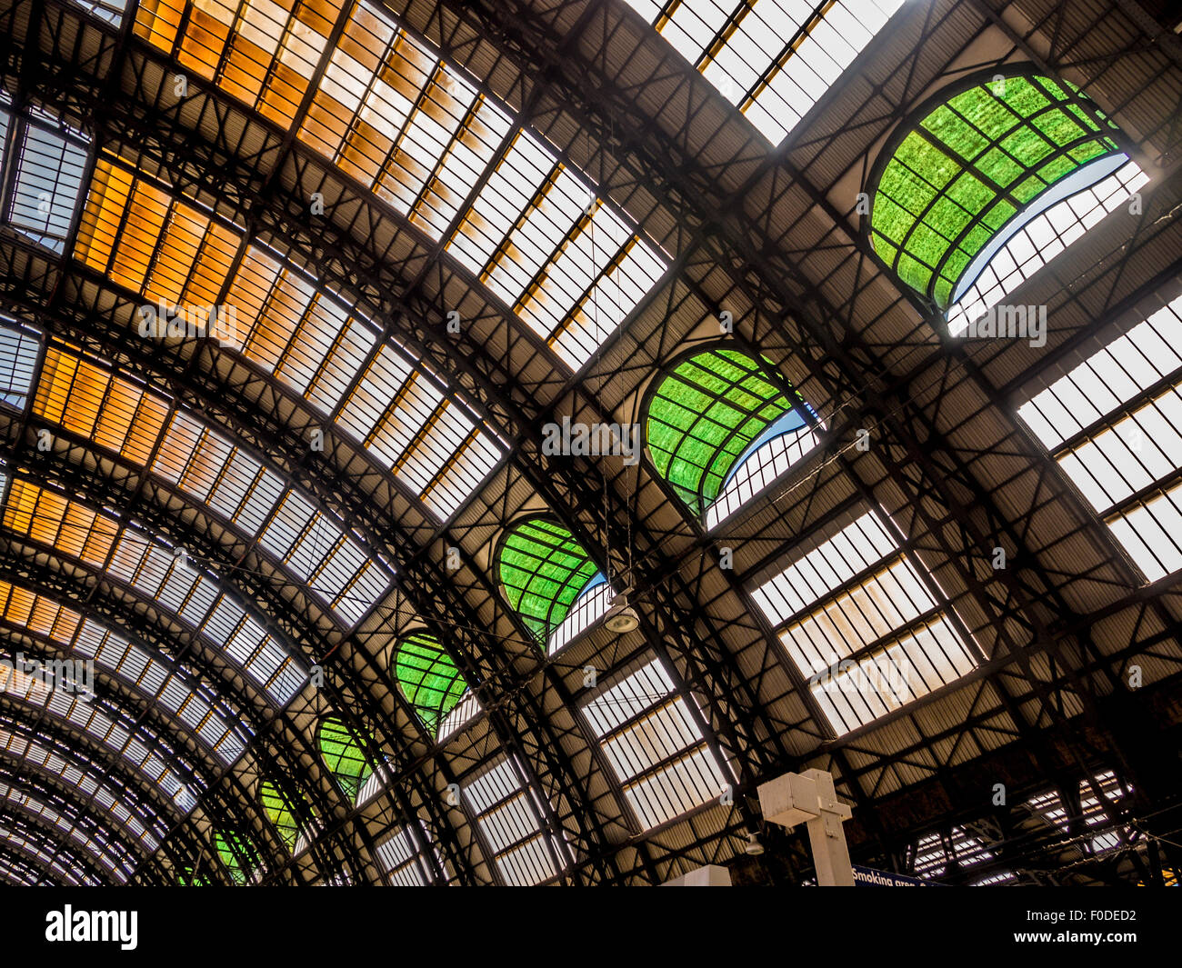 Milano Centrale. Milan Central Station, Italy. - Stock Image