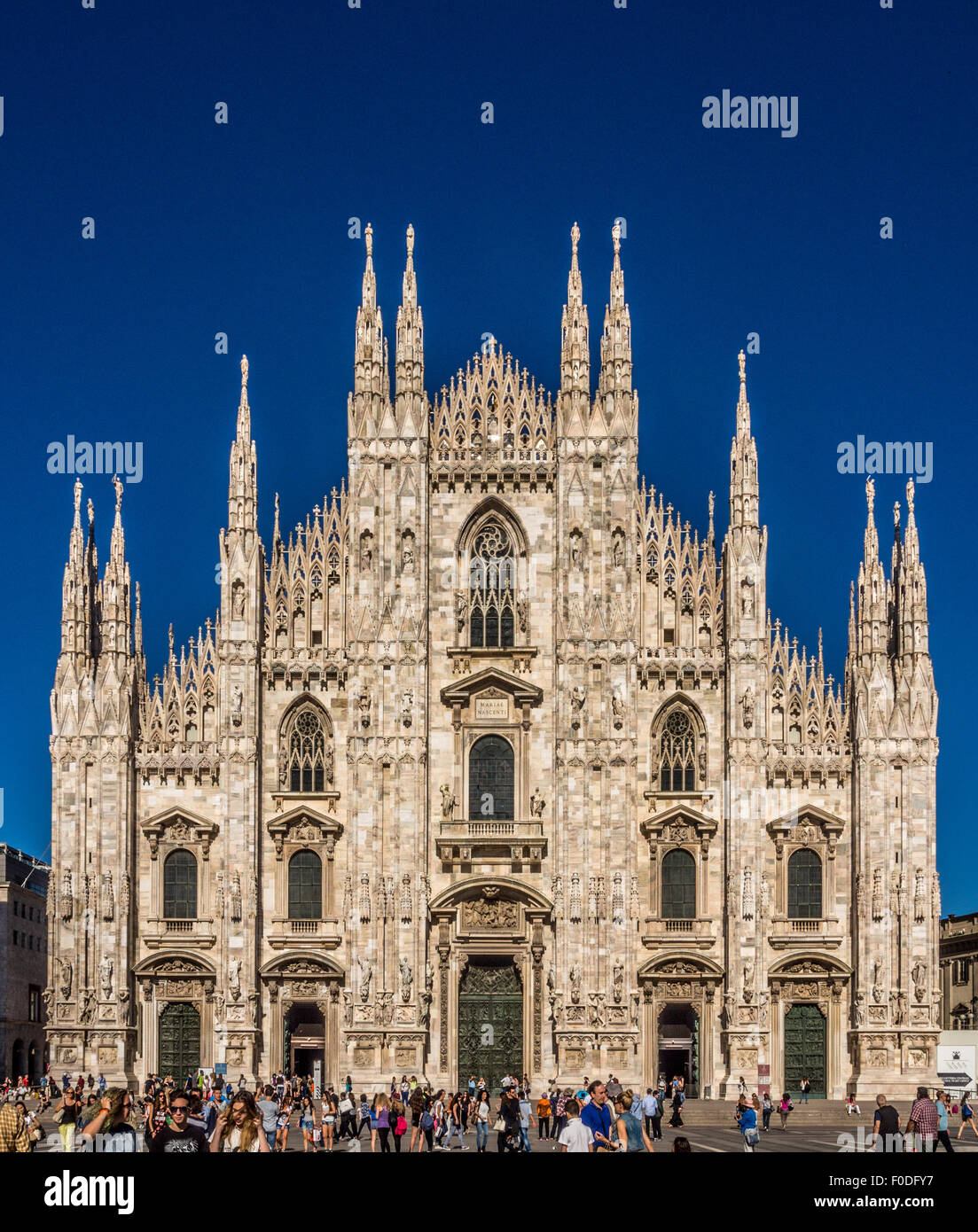 Milan Cathedral, Milan, Italy. - Stock Image