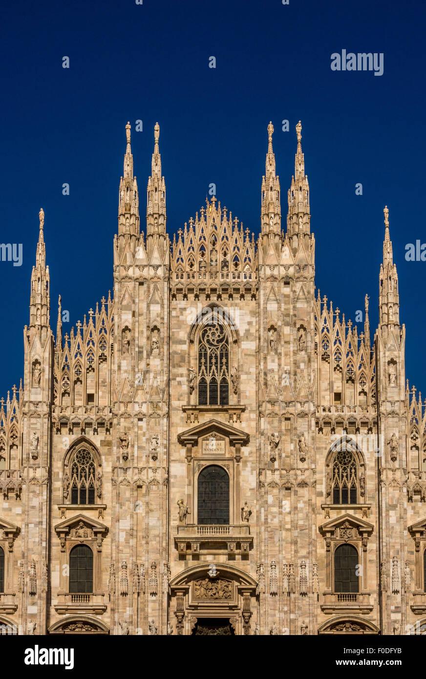 Milan Cathedral - Stock Image