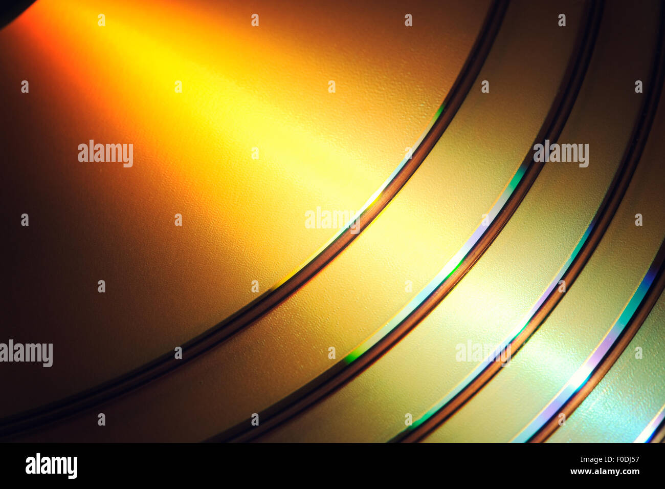 DVD Blue Ray CD Background - Stock Image