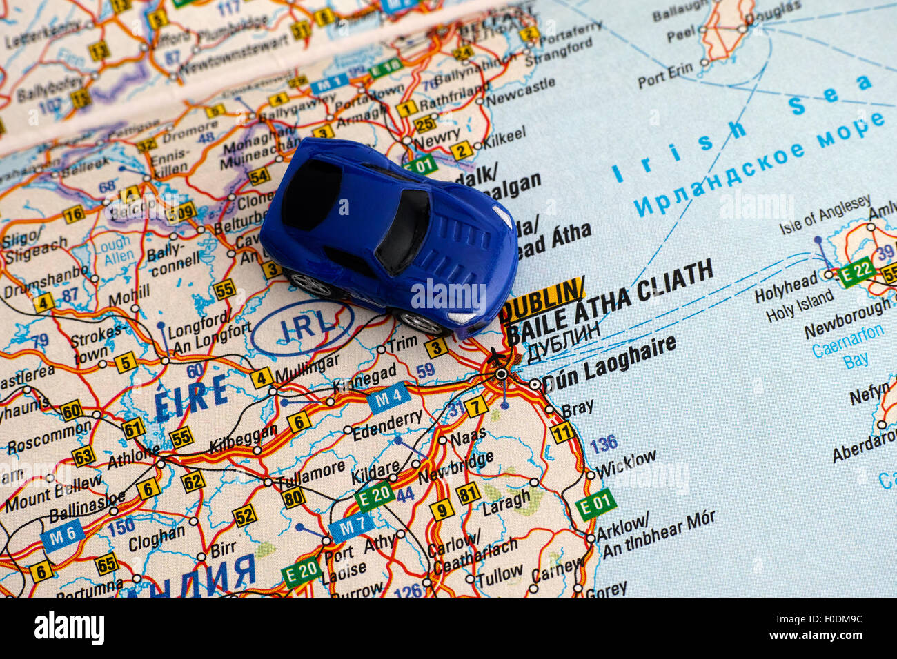 Map Of Ireland For Driving.Toy Car Driving Road Map Stock Photos Toy Car Driving Road Map