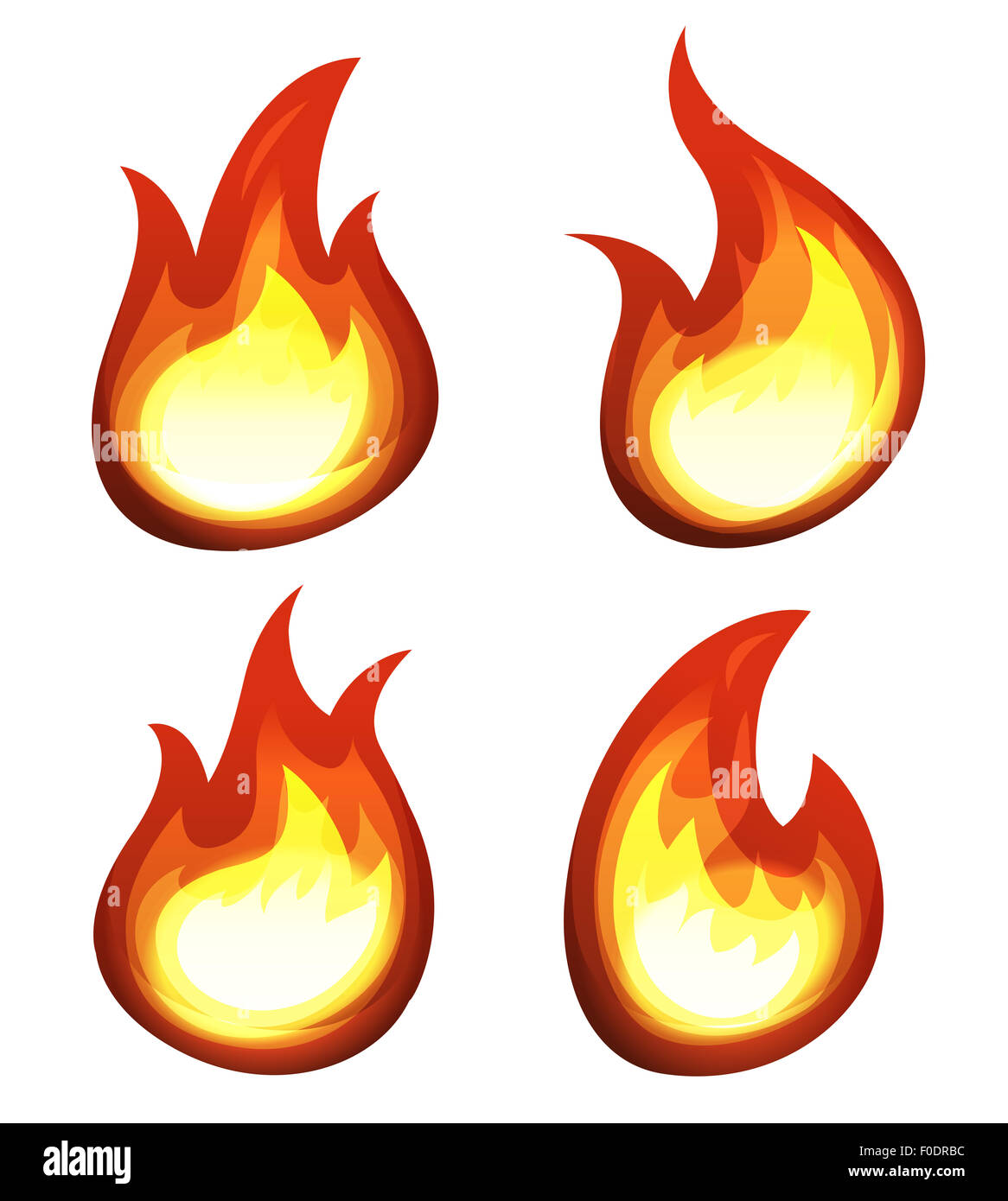 Cartoon fire cut out stock images pictures alamy for Blaze cartoni in italiano