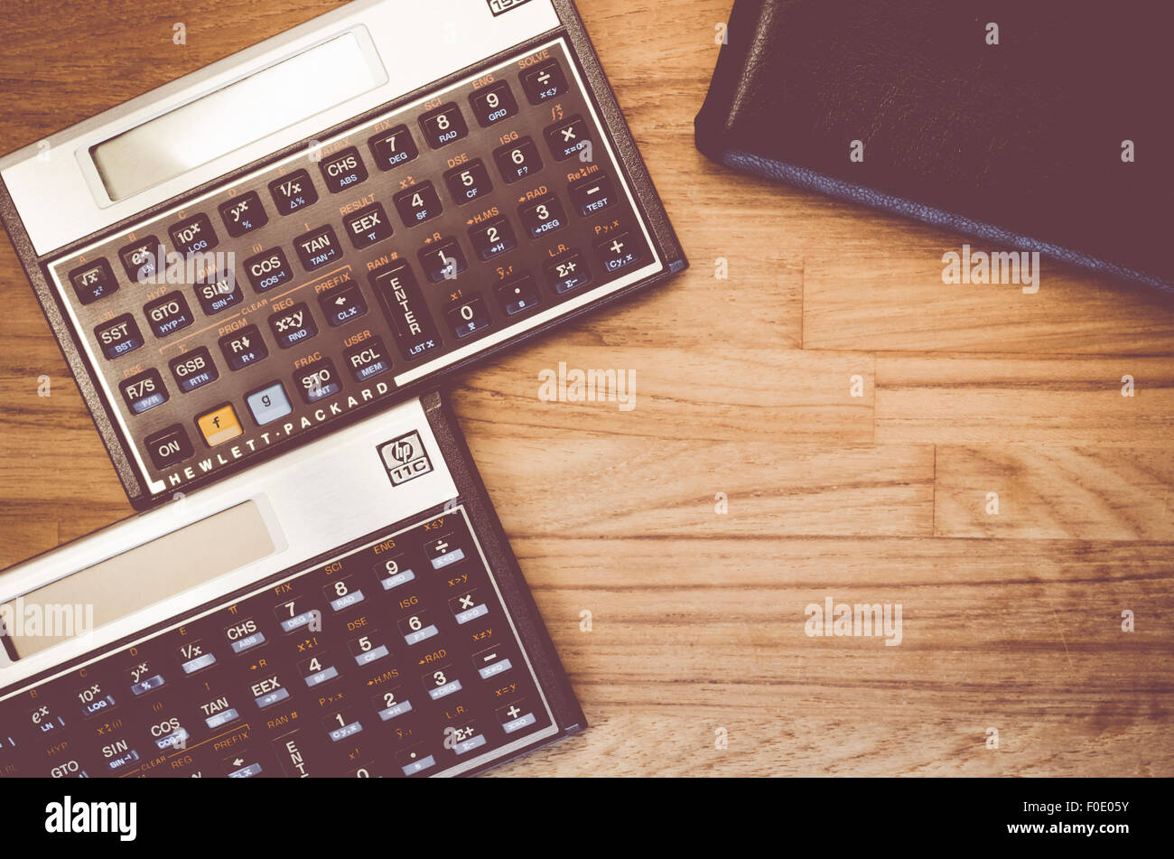 HP-15C and HP 11C programmable scientific calculator made by