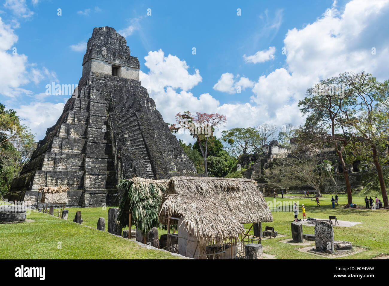 Tikal National Park in Guatemala - Stock Image