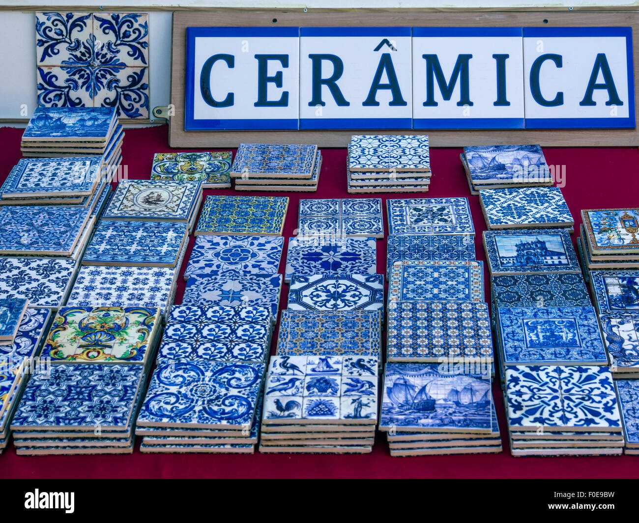 Blue Ceramic Tiles Stock Photos & Blue Ceramic Tiles Stock Images ...