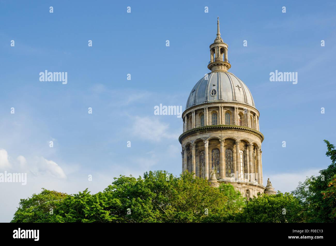 The Basilica of Notre-Dame de Boulogne in Boulogne-sur-Mer, France - Stock Image
