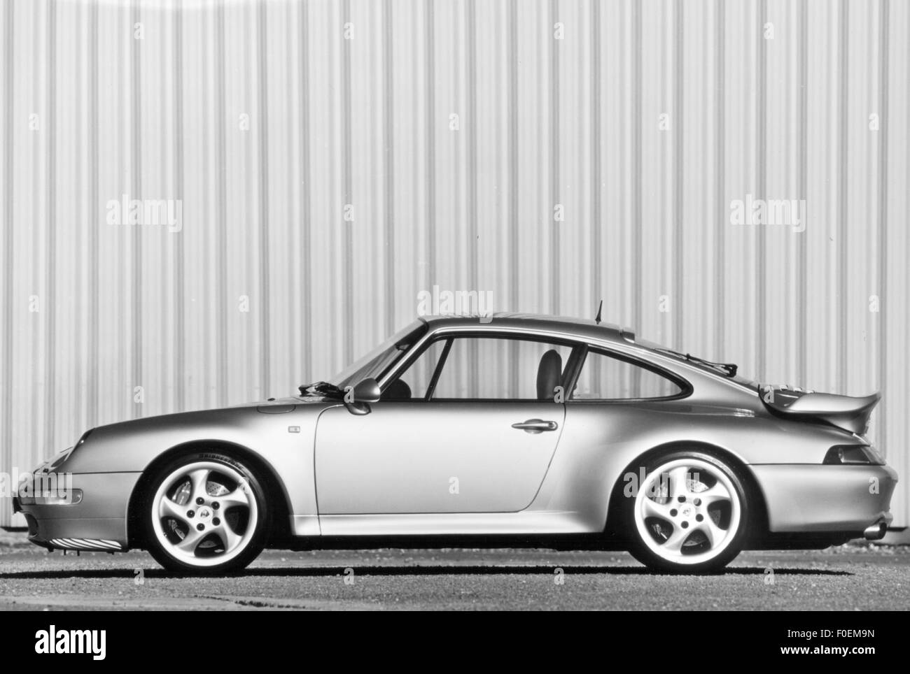 transport / transportation, cars, vehicle variants, Porsche 911 Turbo (Porsche 930), view from left, 1998, Additional - Stock Image