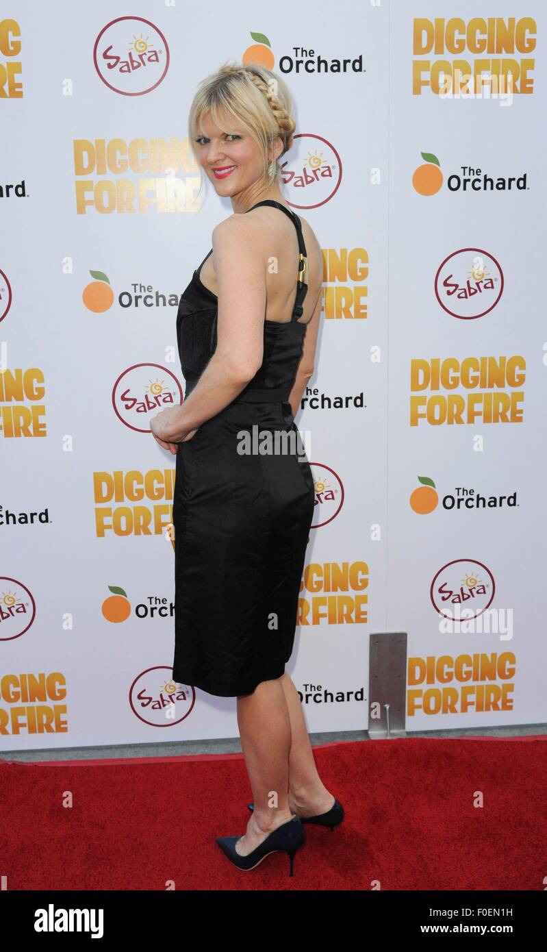 Los Angeles, CA, USA. 13th Aug, 2015. Arden Myrin at arrivals for DIGGING FOR FIRE Premiere, Arclight Hollywood, Los Angeles, CA August 13, 2015. Credit:  Elizabeth Goodenough/Everett Collection/Alamy Live News Stock Photo