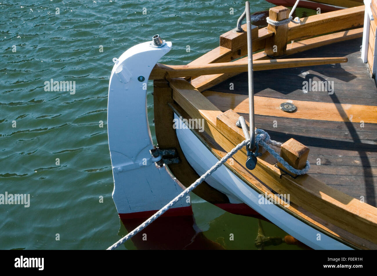 Boat Tiller Stock Photos & Boat Tiller Stock Images - Alamy