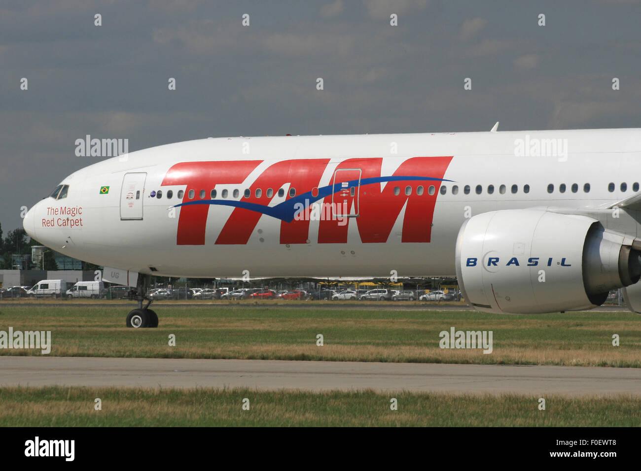 tam brasil 777 - Stock Image