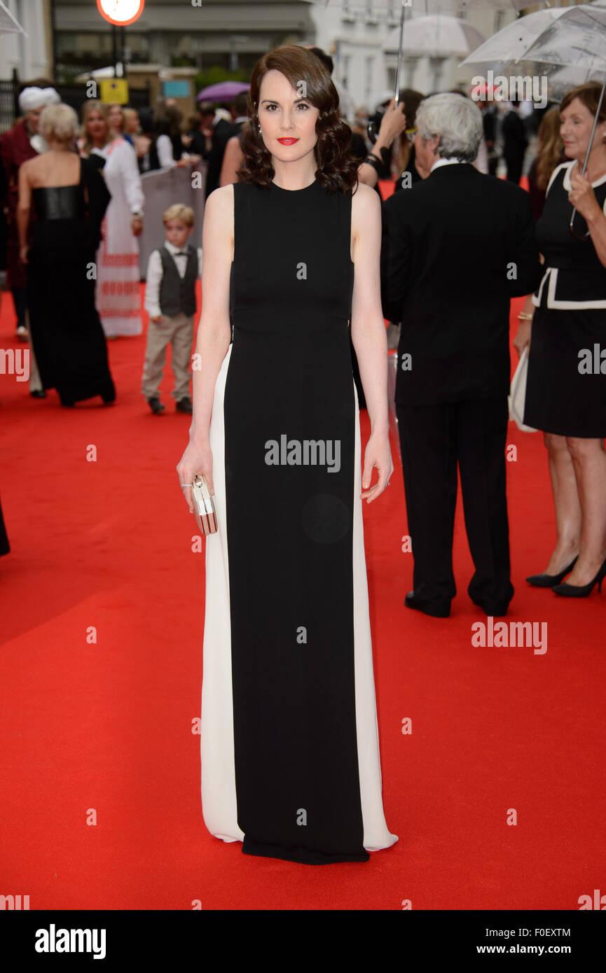 Michelle Dockery arrives for theBAFTA Celebrates Downton Abbey - Stock Image