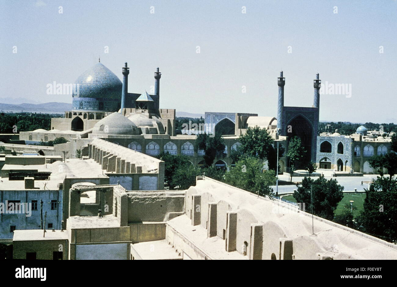 geography / travel, Iran, Esfahan, mosque, Imam Mosque, Naqsh-e Jahan Square, 1960s, Additional-Rights-Clearences - Stock Image