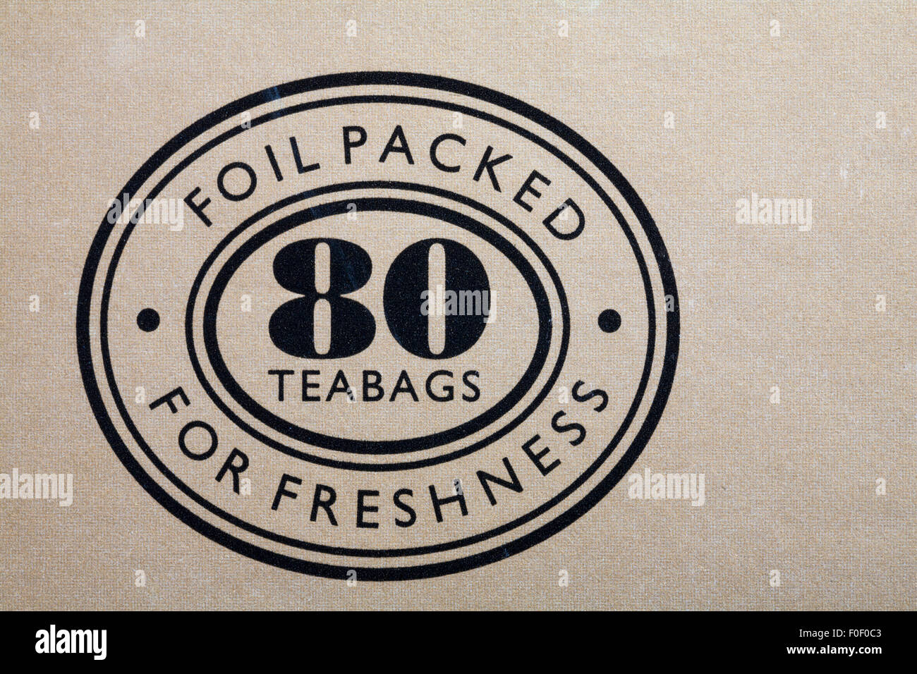 foil packed for freshness 80 teabags logo on box of marks spencer