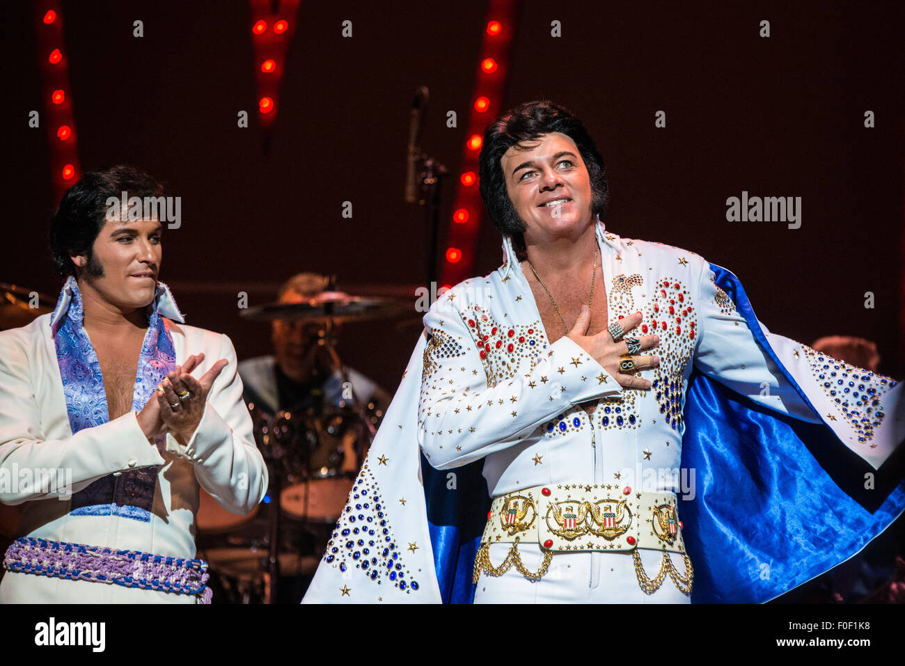 David Lee from Brimingham Alabama Winner of The 2015 Ultimate Elvis Tribute Artist Contest August 11 - 12 -13 2015 Orpheum Theatre Memphis Tennessee ...  sc 1 st  Alamy & Memphis Tennessee USA. 13th August 2015. David Lee from Stock ...