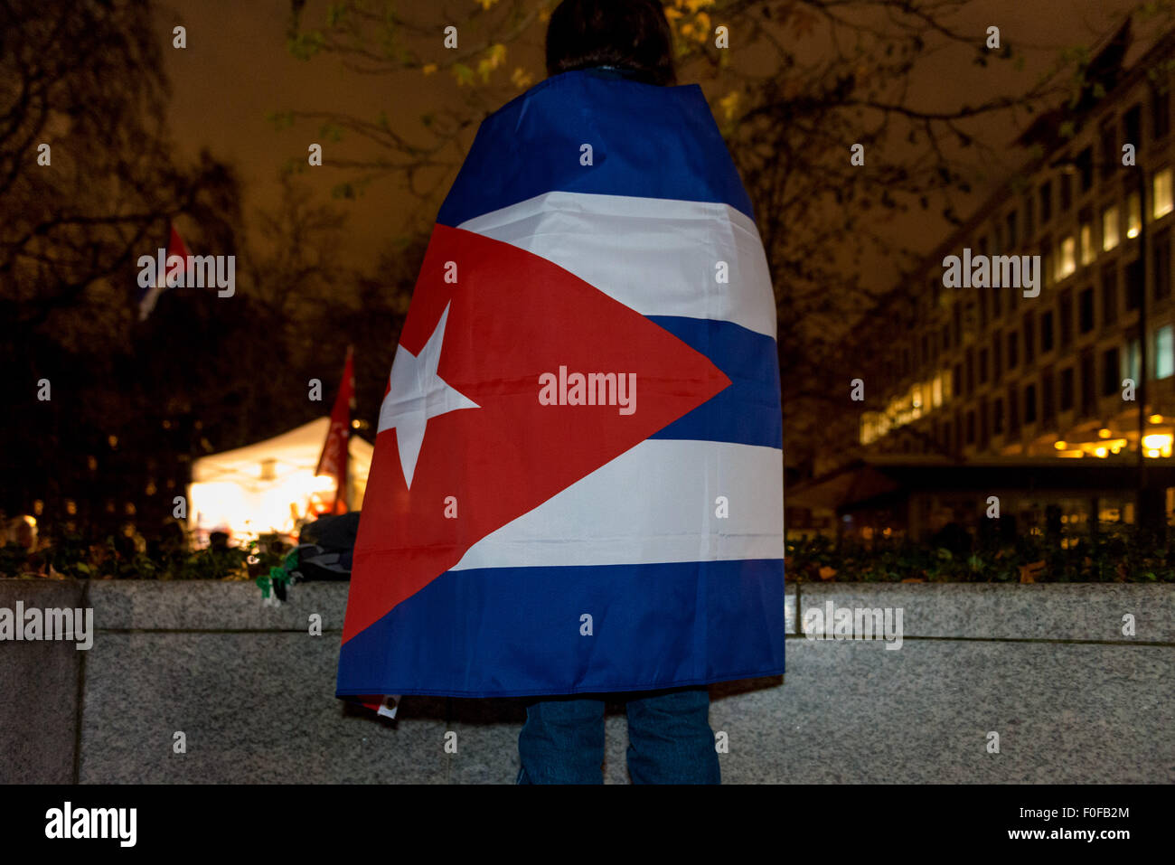 File. 14th Aug, 2015. The United States has reopened its embassy in Cuba more than 54 years after it was closed, Stock Photo