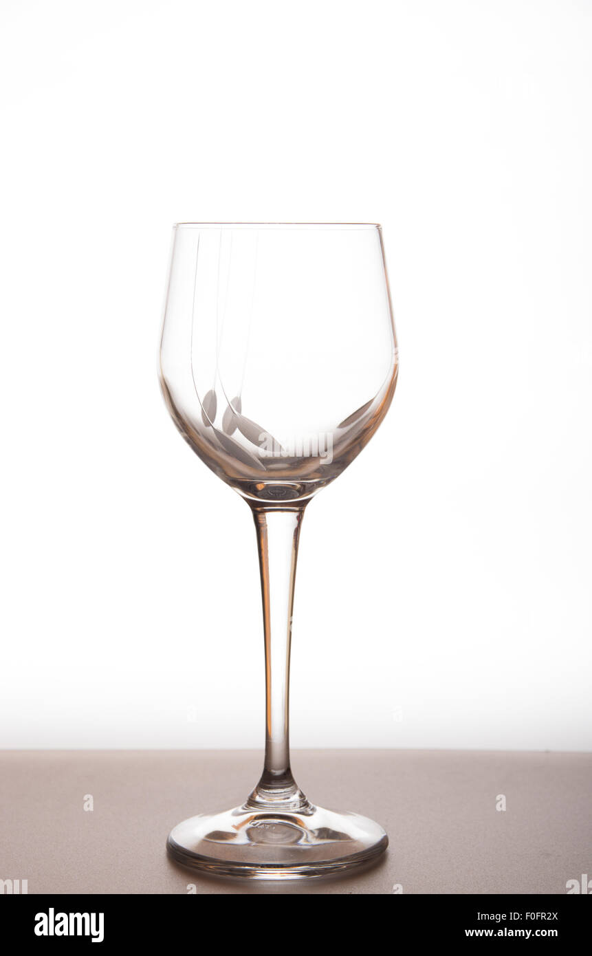 glass of white wine and red wine white background, cin cin , prosit ...