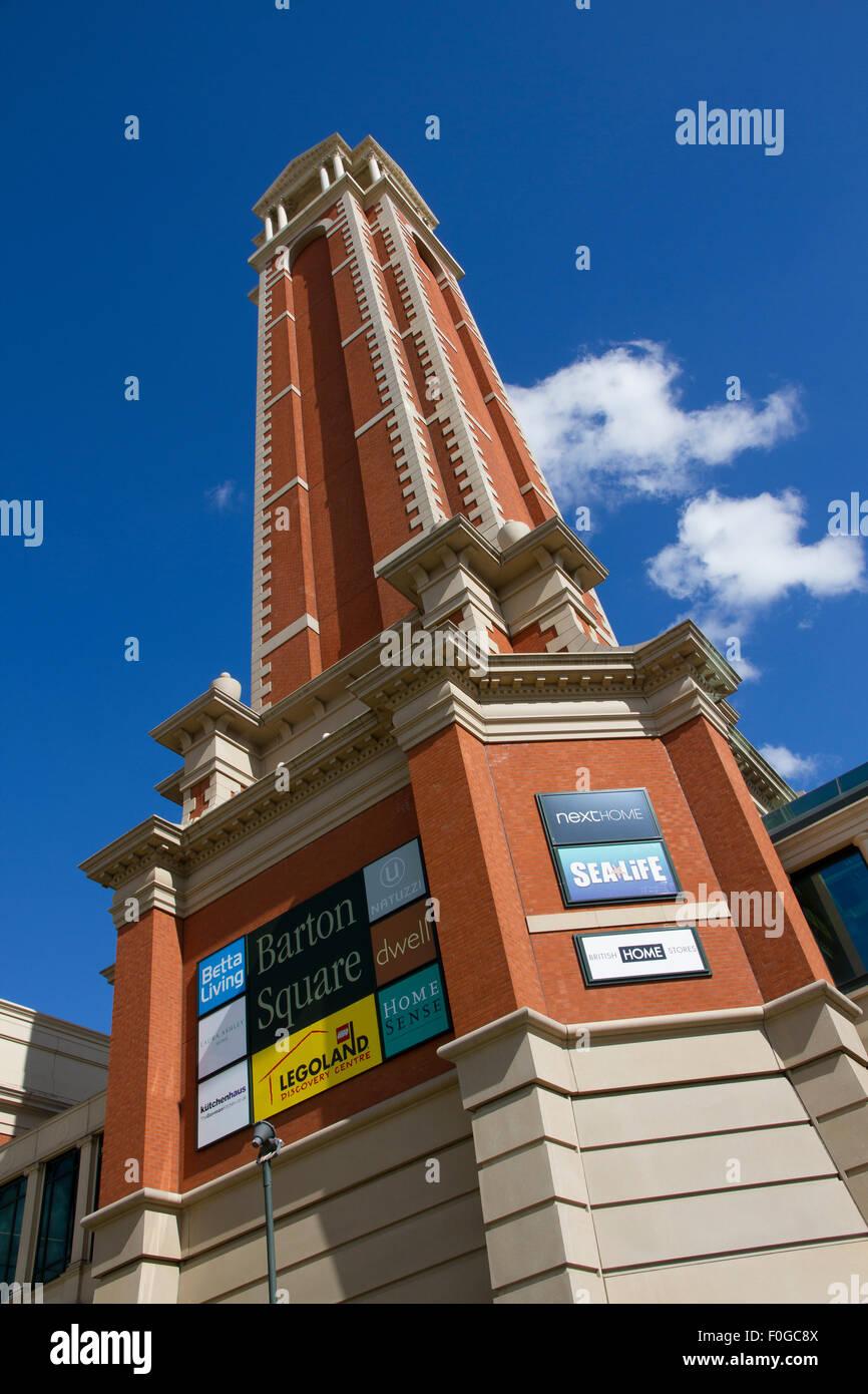 Barton Square shopping and homeware destination at The Trafford Centre - Stock Image