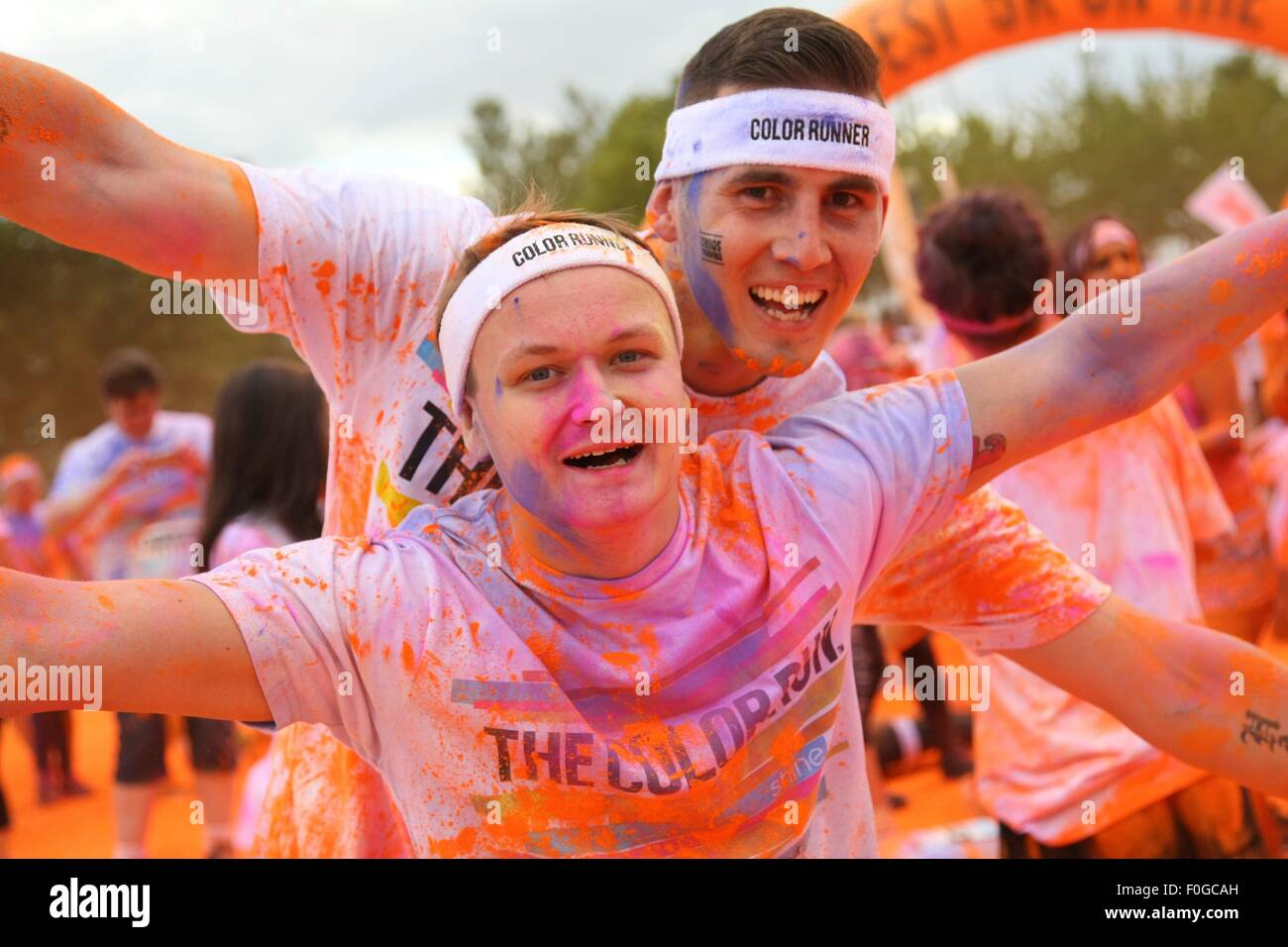 Birmingham Uk Saturday 15th August 2015 The Color Run Dubbed The