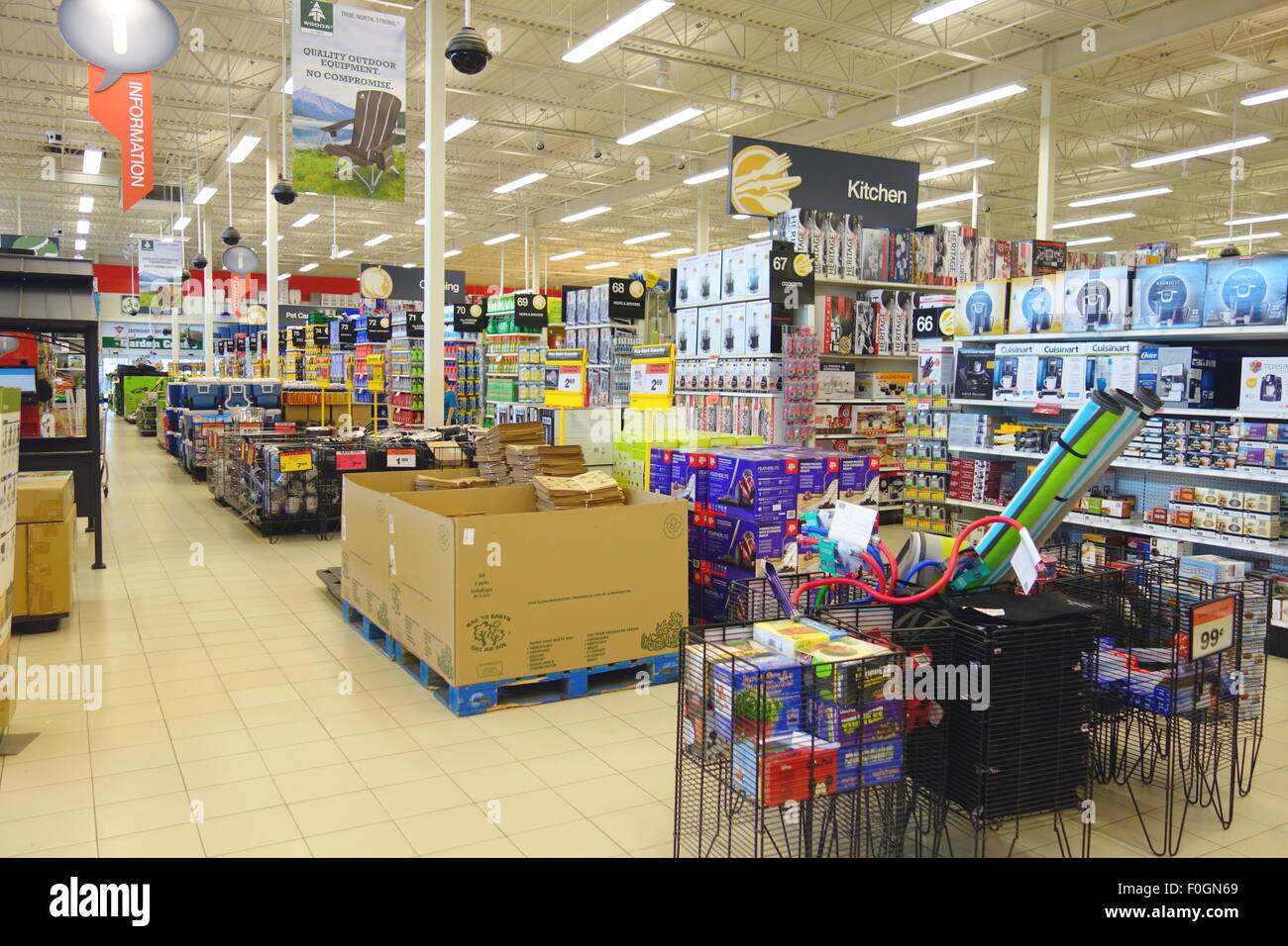 Canadian tire store in Toronto, Canada Stock Photo: 86419713 - Alamy