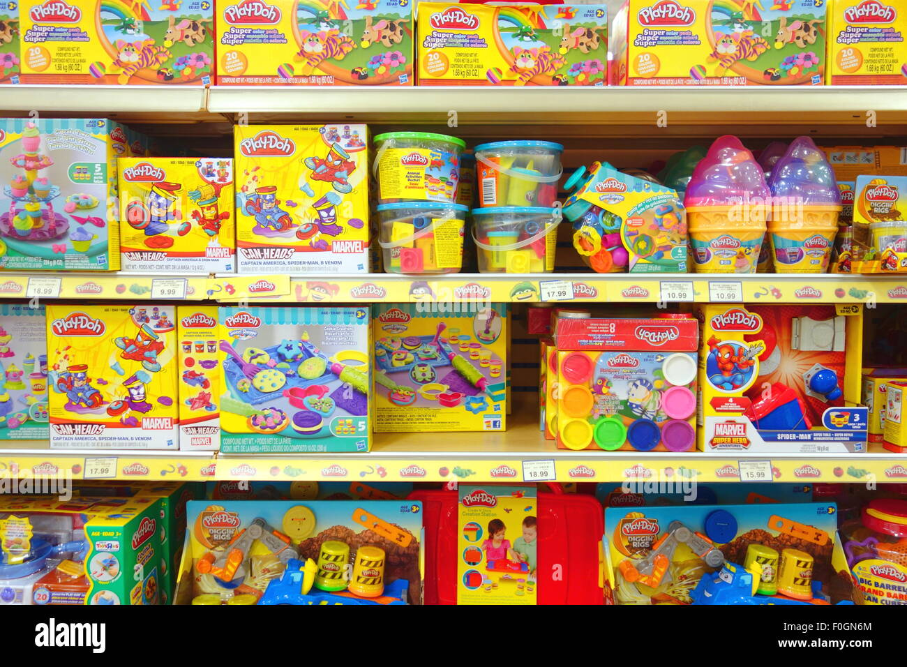 Toy Store Shelves Stock Photos Amp Toy Store Shelves Stock